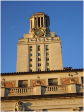 University of Texas clock tower